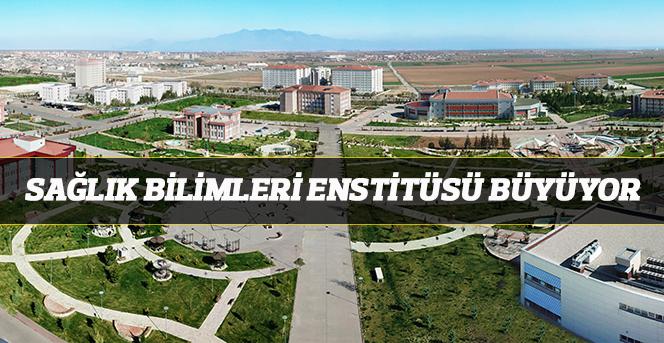 Sağlık Bilimleri Enstitüsü Büyüyor