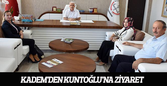 KADEM'den Kuntoğlu'na Ziyaret
