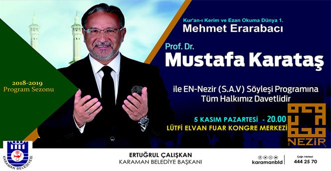 Mustafa Karataş Karamanlılarla Buluşacak