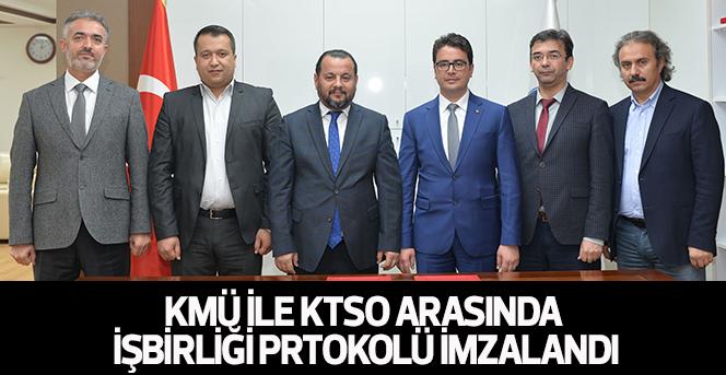 KMÜ İLE KTSO Arasında İşbirliği Prtokolü