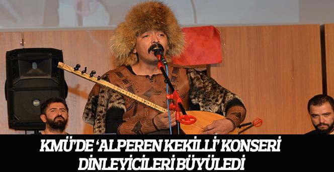 KMÜ'de 'Alperen Kekilli' Konseri Dinleyicileri Büyüledi