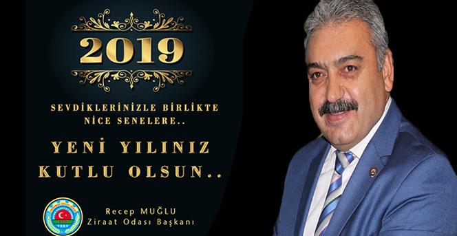 Karaman Ziraat Odası Başkanı MUĞLU'nun yeni yıl mesajı