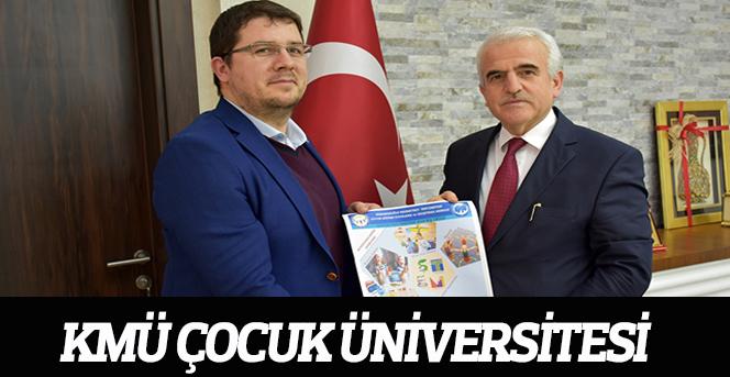 KMÜ Çocuk Üniversitesi kayıtları başladı