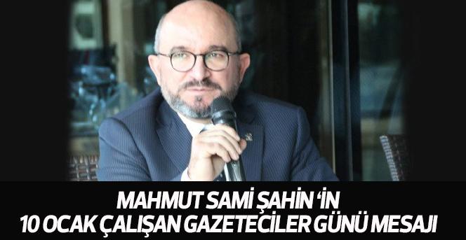 AK Parti Karaman Belediye Başkan adayı Mahmut Sami Şahin 10 Ocak çalışan gazeteciler günüy
