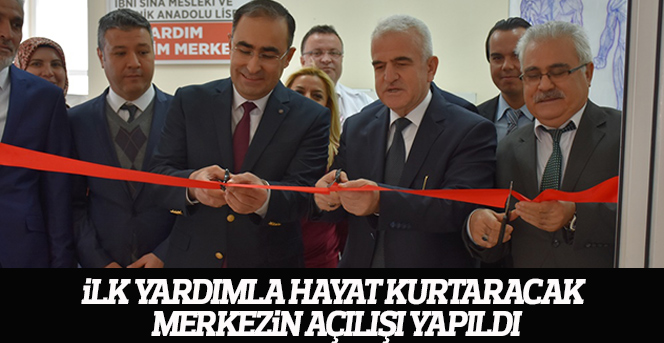 İlk Yardım Eğitim Merkezinin Açılışı Yapıldı
