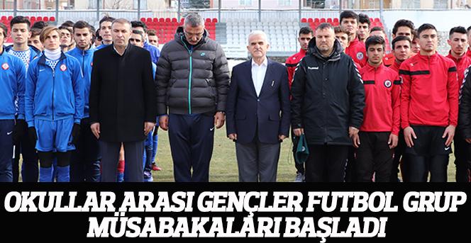 Okullar Arası Gençler Futbol Grup Müsabakaları Başladı
