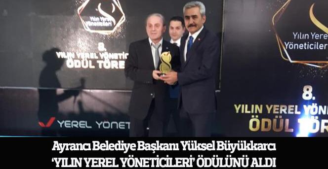Ayrancı Belediyesi 3. Kez Türkiye 1.'si