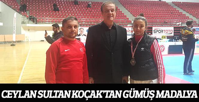 Ceylan Sultan Koçak'tan Gümüş Madalya