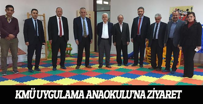 KMÜ Uygulama Anaokulu'na Ziyaret