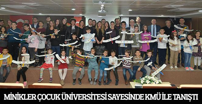Çocuk Üniversitesinin 2019 Kış Okulu programı sona erdi