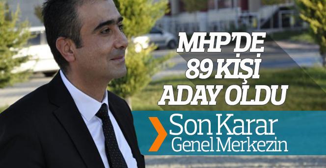 MHP'de Aday Enflasyonu yaşanıyor