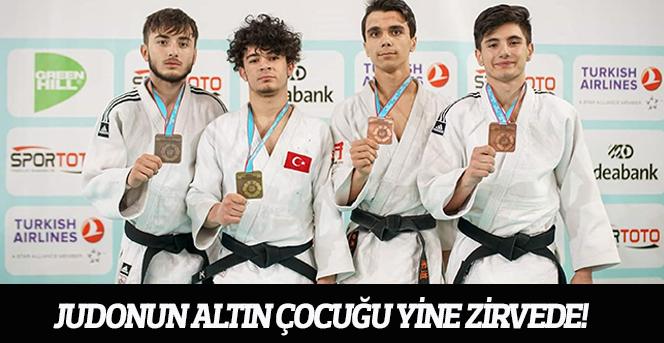 Judonun Altın Çocuğu Yine Zirvede!