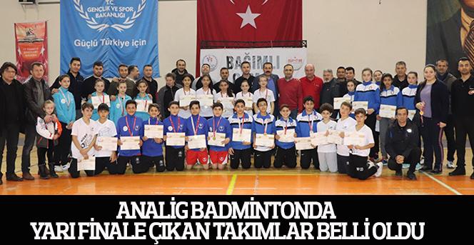 Analig Badmintonda Yarı Finale Çıkan Takımlar Belli Oldu