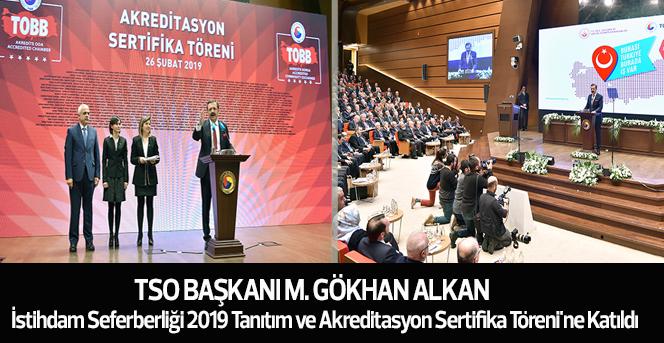 KTSO Başkanı Alkan, İstihdam Seferberliği Toplantısı'na Katıldı