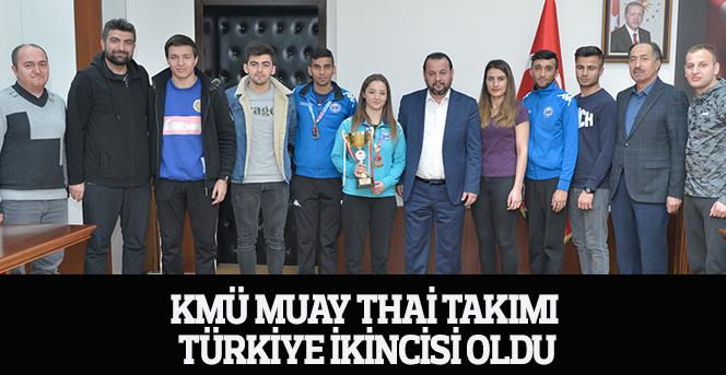KMÜ Muay Thai Takımı Türkiye ikincisi oldu