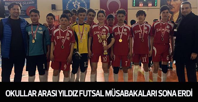 Okullar Arası Yıldız Futsal Müsabakaları Sona Erdi