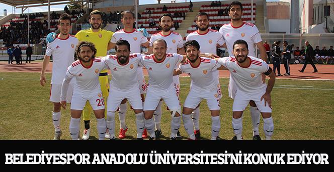 Belediyespor Anadolu Üniversitesi'ni Konuk Ediyor