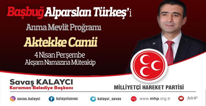 Alparslan Türkeş'in vefatının 22. Yıl dönümünde Mevlid-i Şerif