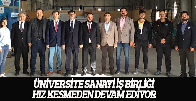 Üniversite Sanayi İş Birliği Hız Kesmeden Devam Ediyor