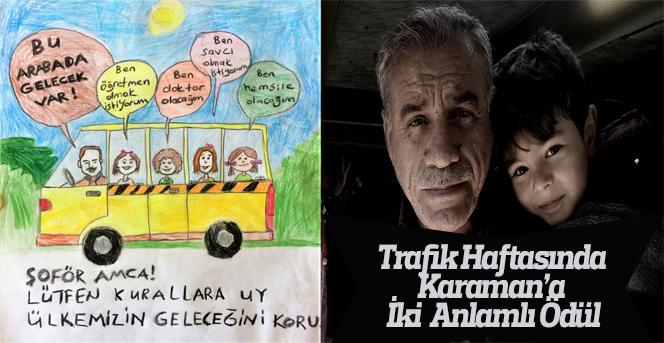 Trafik Haftasında Karaman'a İki Anlamlı Ödül
