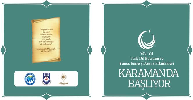 Türk Dil Bayramı Ve Yunus Emre'yi Anma Etkinliklerinin Ana Programları Netleşti