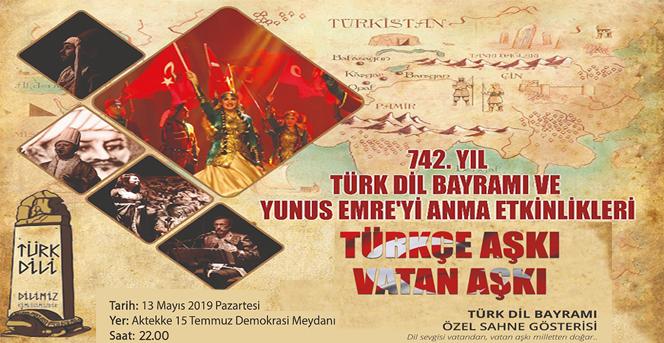 Türkçe Aşkı Vatan Aşkı Özel Sahne Gösterisi Bu Akşam