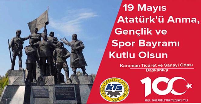 KTSO Başkanlarından 19 Mayıs Gençlik Ve Spor Bayramı Kutlama Mesajı