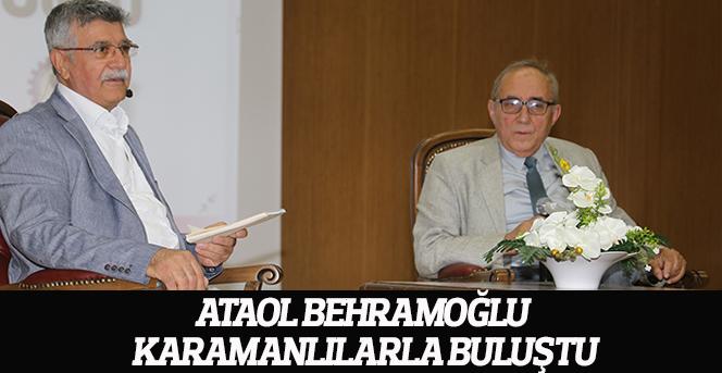 Ataol Behramoğlu Karamanlılarla Buluştu