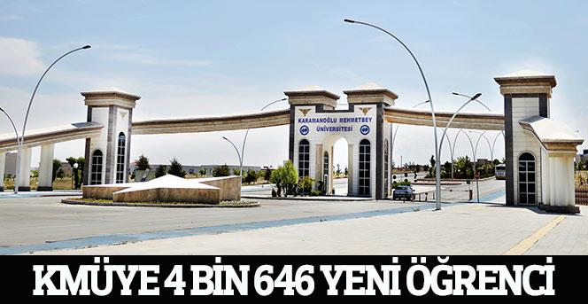 KMÜ 4 Bin 646 Yeni Öğrenci Alacak