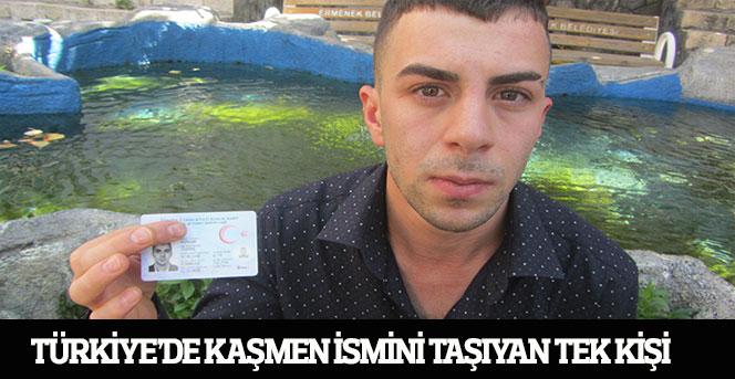 Türkiye'de Kaşmen ismini taşıyan tek kişi