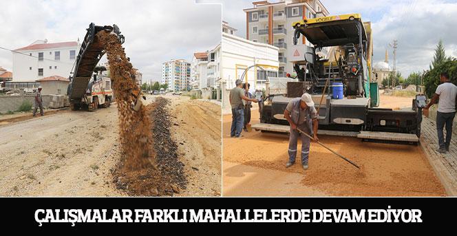 Çalışmalar Farklı Mahallelerde Devam Ediyor