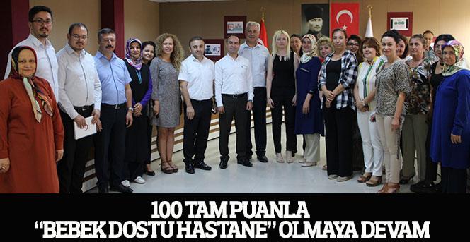 """100 Tam Puanla """"Bebek Dostu Hastane"""" Olmaya Devam"""