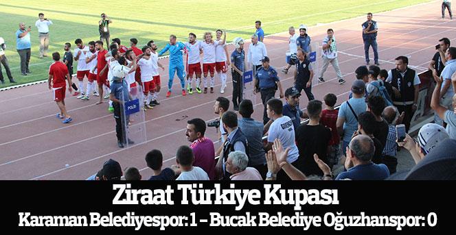Karaman Belediyespor: 1 - Bucak Belediye Oğuzhanspor: 0