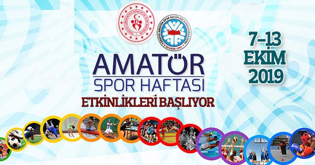 Karaman'da Amatör Spor Haftası Etkinlikleri Başlıyor