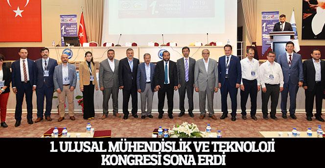 1. Ulusal Mühendislik Ve Teknoloji Kongresi, Sona Erdi