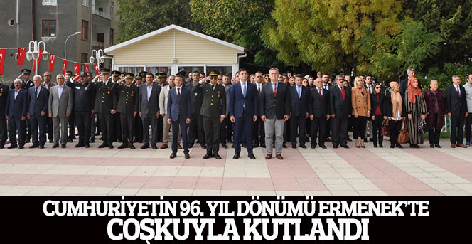 Ermenek'te Cumhuriyet Bayramımız Coşkuyla Kutlandı