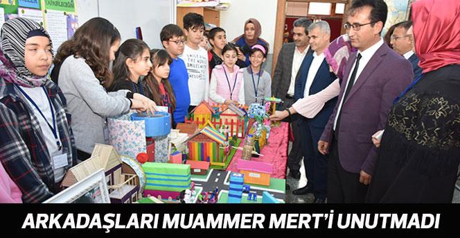 Arkadaşları Muammer Mert'i Unutmadı