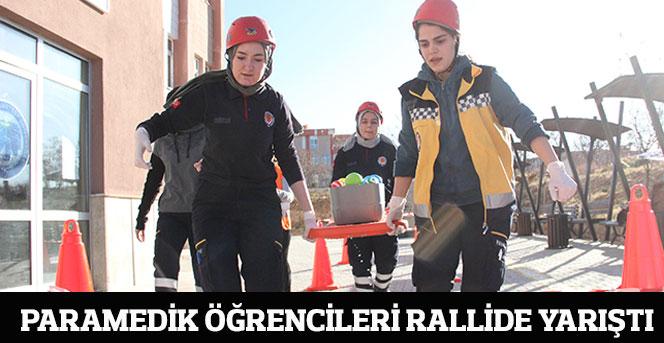 Paramedik Öğrencileri Rallide Yarıştı