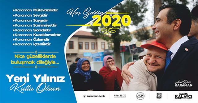 Karaman Belediye Başkanı Kalaycının Yeni Yıl Mesajı