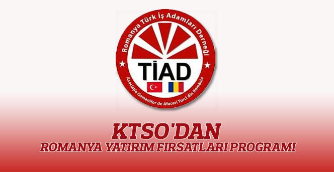 KTSO'dan Romanya Yatırım Fırsatları Programı