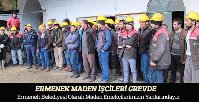 Ermenek Belediyesi Olarak Maden Emekçilerimizin Yanlarındayız