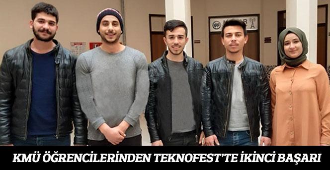 KMÜ Öğrencilerinden Teknofest'te İkinci Başarı