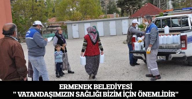"""Ermenek Belediyesi"""" Vatandaşımızın Sağlığı Bizim İçin Önemlidir"""""""