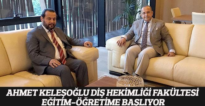 Ahmet Keleşoğlu Diş Hekimliği Fakültesi Eğitim-Öğretime Başlıyor