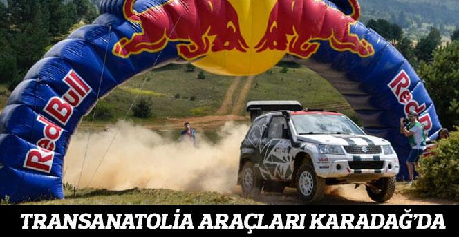 TransAnatolia araçları Karadağ'da
