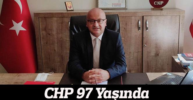 CHP 97 Yaşında!