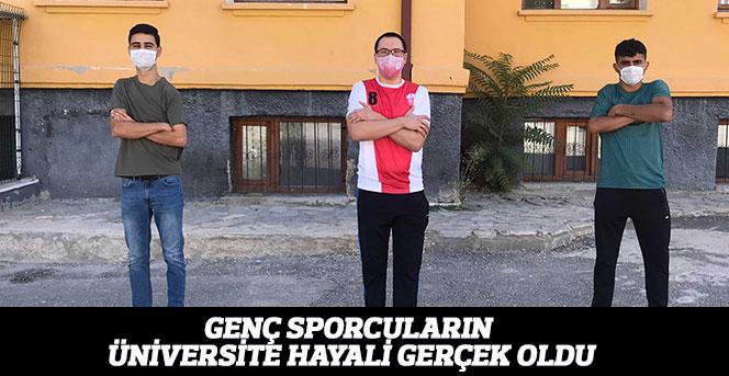 Bedensel Engelli Sporcuların Üniversite Hayali Gerçek Oldu