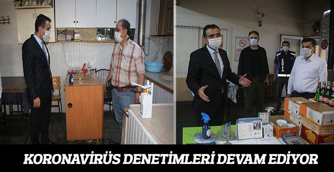 Koronavirüs Denetimleri Devam Ediyor