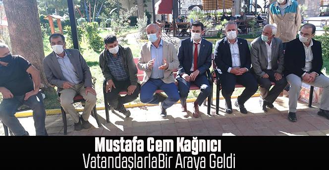 Mustafa Cem Kağnıcı vatandaşlarla bir araya geldi