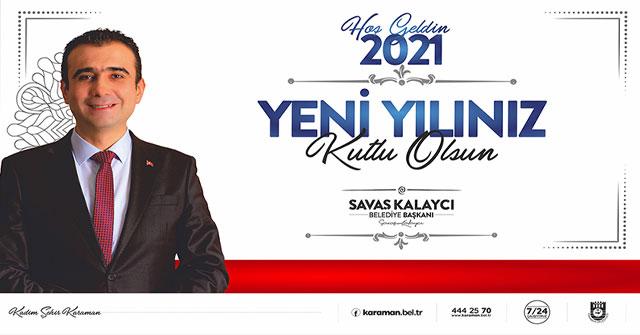 Başkan Kalaycı'nın Yeni Yıl Mesajı